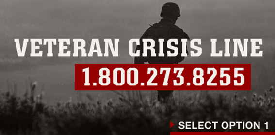 Veteran Crisis Line Graphic